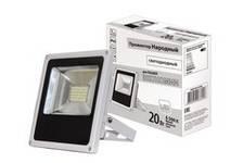 Прожектор светодиодный СДО20-2-Н 20Вт,6500К,серый TDM