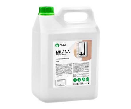 Жидкое крем-мыло GRASS Milana 5 л (антибактериальное)  Фотография_0
