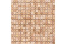 Мозаика Caramelle Mosaic Pietrine Emperador Light полированная, 305х305х4 мм, чип 15х15 мм