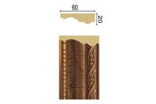 Багет Интерьерный 1М6-2 B/G  Vitart 2,4м