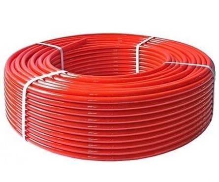 Труба сшитый  полиэтилен  Д16 (Красная) (200м) Фотография_0