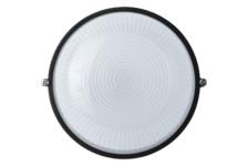 Светильник Navigator НПБ-60w 175х175 мм, термостойкий, круглый без решетки, IP54, черный