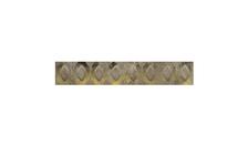 Фриз Березакерамика Премиум 54х500 мм, коричневый