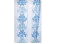Штора для ванн Bath Plus (DAMASK) голубой 21245/0-P, 180х180 см