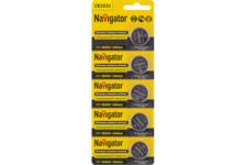 Элемент питания Navigator NBT-CR2032-BP5
