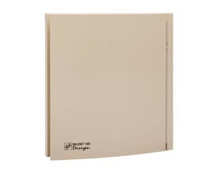 Вентилятор S&P Silent - 100 CZ Ivory Design - 4c