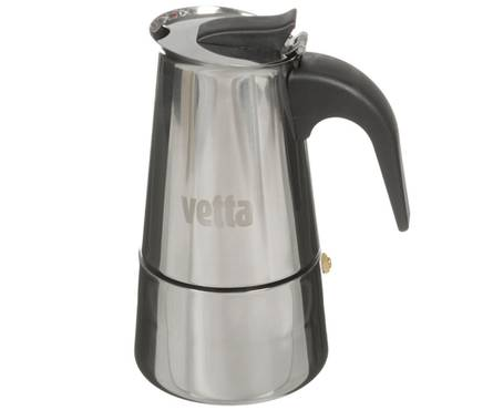 Кофеварка нерж. 400мл нейлон ручка Vetta 850-130 Фотография_0
