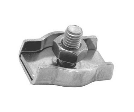 Зажим для стальных канатов оцинкованный 6 мм (фас 10шт) Фотография_0