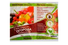 Средство Спасатель Огорода (3 мл инсектицид + 12 мл фунгицид) от фитофтороза, некроза, пятнистости, проволочника, медведки