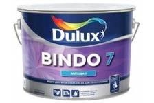 Краска ВД Dulux BINDO 7BW для стен и потолков 5 л