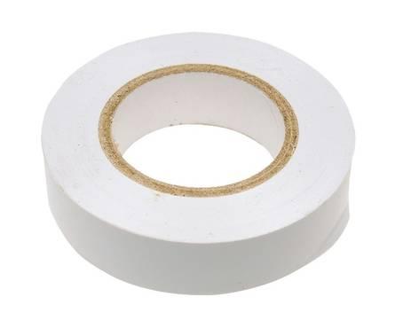 Изолента ПВХ СИБРТЕХ, 15 мм х 10 м, белая Фотография_0