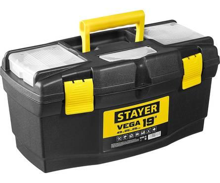 Ящик для инструмента STAYER VEGA-19, пластиковый Фотография_0