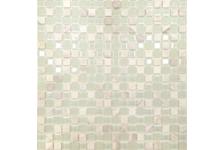 Мозаика Caramelle Mosaic Naturelle Mont Blanc 305х305х4 мм, чип 15*15 мм