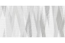 Декор Belani Эклипс 250x500 мм, светло-серый