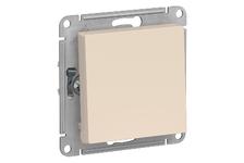 Выключатель ATLAS бежевый 1-кл 10А\250В (Schneider Electric)