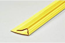 Профиль торцевой UP, 4 мм, L= 2,1 м, желтый