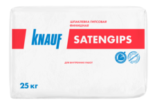 Шпаклевка KNAUF Сатенгипс гипсовая 25 кг
