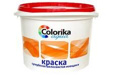 Краска ВД Colorika Agua супербелая шелковистая моющаяся для внутренних работ 1 кг