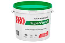 Шпатлевка полимерная DANOGIPS SuperFinish финишная, готовая 11 л/18,1 кг