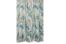 Штора для ванн Bath Plus Banana Leaf 180х200 см, зеленая