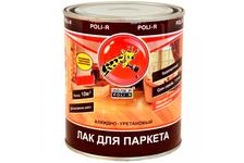 Лак паркетный Поли-Р шелковисто-матовый, 0,75 л