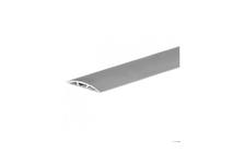 Порог стыкоперекрывающий 38 мм 0,9 анодированное серебро