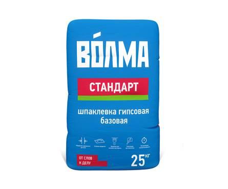 Шпаклевка ВОЛМА Стандарт гипсовая 20кг (45) Фотография_0