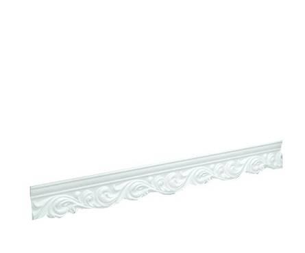 Плинтус потолочный 2м Инжекционный 206057 ИУ, для натяжного потолка Фотография_0