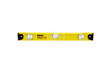 Уровень STAYER MASTER I-Bar 80 см, рельс двутавровый, 3 ампулы (1 поворотная на 360 °C), линейка