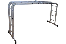 Лестница-трансформер ВИХРЬ 4*4 алюминиевая
