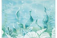 Декор Березакерамика Лазурь Морское дно 250х350 мм