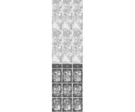 ПВХ Панель Фриз 2700*250*9мм Барон Черный 102