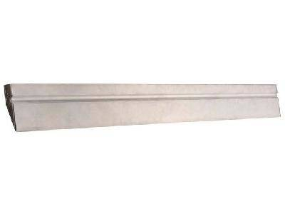 Правило STAYER MASTER алюминиевое, профиль ДВУХВАТ с ребром жесткости, 2,5м.