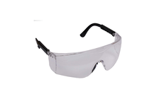 Очки защитные STAYER с регулируемыми по длине дужками, поликарбонатные прозрачные линзы