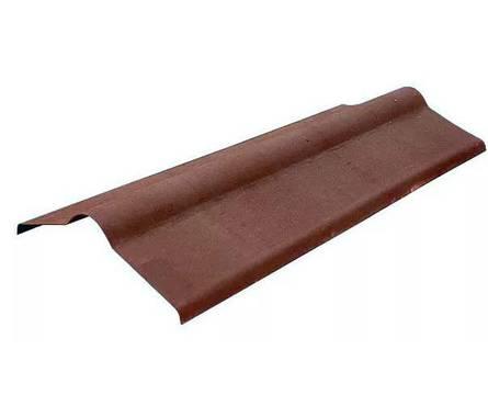 Конек Ондулин коричневый (1000 мм) Фотография_0