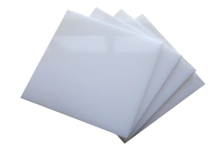 Монолитный поликарбонат 3 мм,  2.05 х 3.05 м, светопропускаемость 30%,  молочный