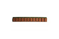 Планка цокольная VOX SM 13х90 мм, коричневая