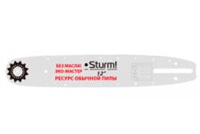 Пильная шина Sturm! SB1250380PO-OL 12, паз 1.3 мм, шаг 3/8, 45 звеньев