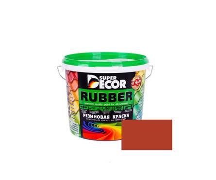 Краска резиновая Super Decor №2(Черепица Красная), 12кг Фотография_0