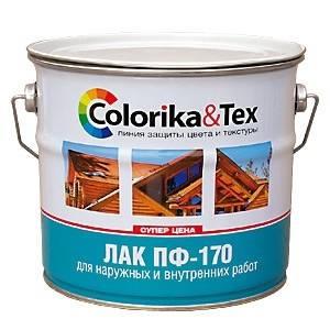 Лак ПФ-170 Colorika&Tex глянцевый 2,7кг Фотография_0