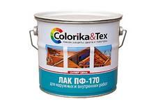 Лак ПФ-170 Colorika&Tex глянцевый 2,7кг