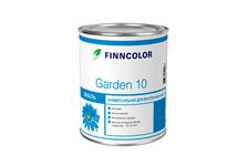 Эмаль алкидная FINNCOLOR Garden 10, матовая, 2.7 л