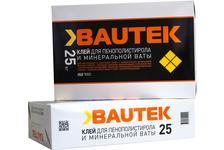 Клей BAUTEK для пенополистирола и минеральной ваты 25 кг