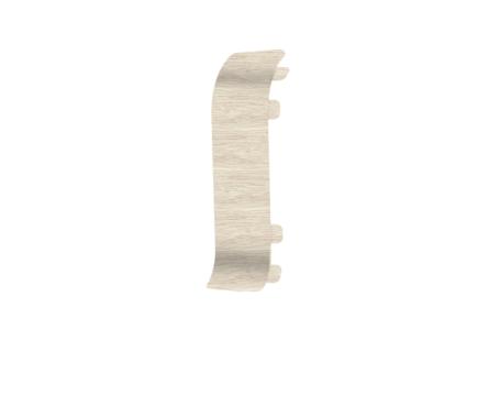 Угол для плинтуса К55 Идеал Комфорт Клен северный/263 соединительный