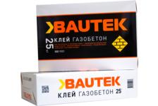 Клей BAUTEK Газобетон морозостойкий, 25 кг