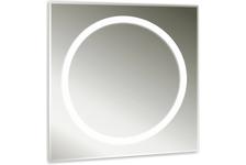 Зеркало MIXLINE Меридиан 700х700 мм, светодиодная подсветка