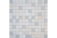 Мозаика Caramelle Mosaic Art Stone Botticino матовая, 300х300х8 мм, чип 48х48 мм