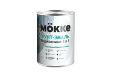 Грунт-эмаль Mokke по ржавчине 3 в 1, белая (1.9 кг)