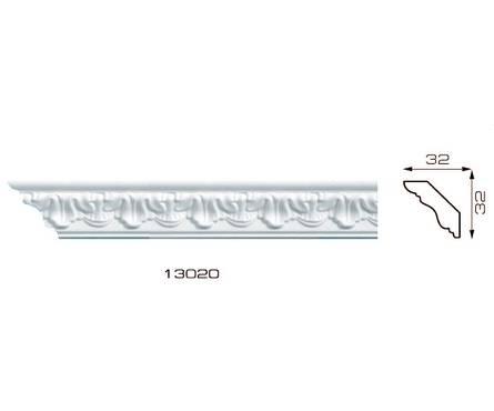 Плинтус потолочный 1,3м Инжекционный Формат 13020 Фотография_0