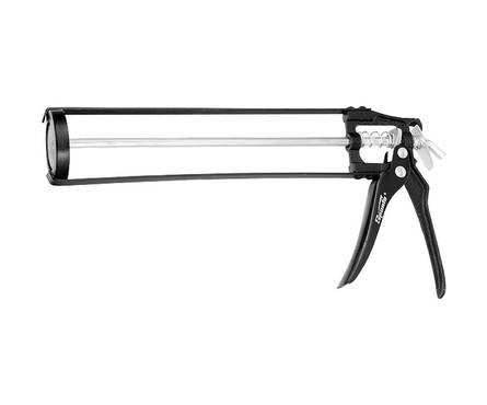 Пистолет для герметика SPARTA, 310 мл, скелетный усиленный с фиксатором, 6-гранный шток 7 мм Фотография_0